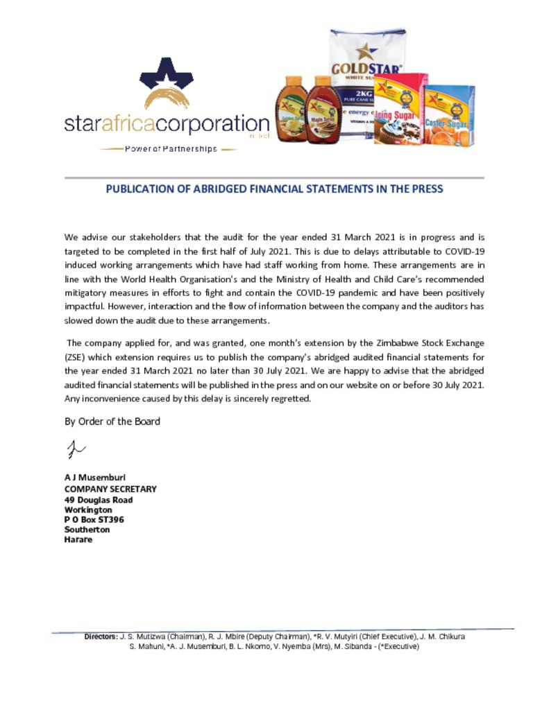 thumbnail of Notice to Shareholders – 8 JUNE 2021_2